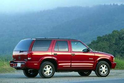Used 2000 Oldsmobile Bravada Base