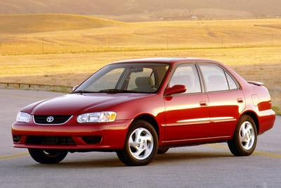 Used 2001 Toyota Corolla S