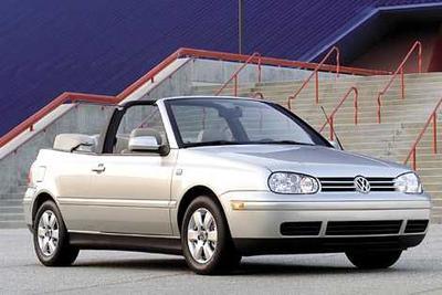 Used 2001 Volkswagen Cabrio GL