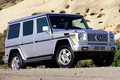 Used 2003 Mercedes-Benz G500 4MATIC