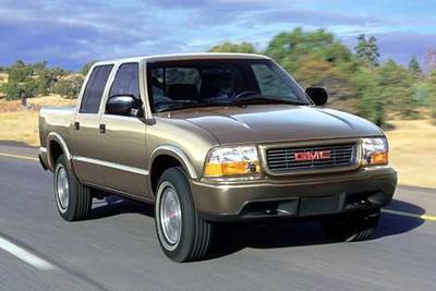 Used 2002 GMC Sonoma SLS