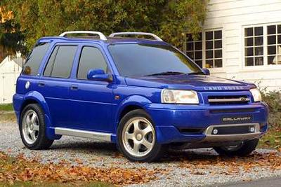 Used 2002 Land Rover Freelander SE
