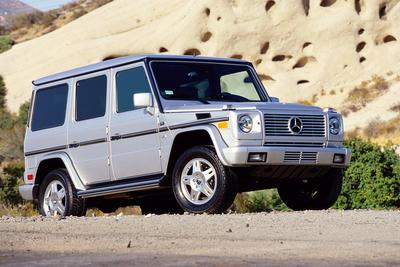 2004 Mercedes-Benz G500 4MATIC