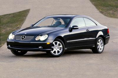 Used 2004 Mercedes-Benz CLK320