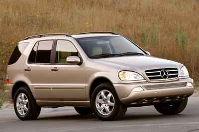 Used 2004 Mercedes-Benz ML350 4MATIC