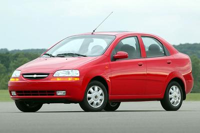 Used 2005 Chevrolet Aveo LS