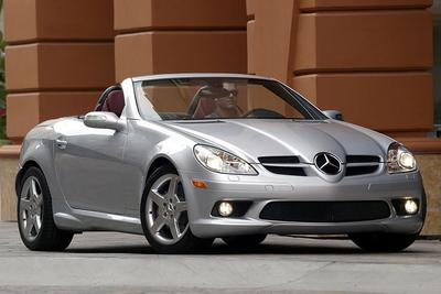 Used 2005 Mercedes-Benz SLK350 Roadster
