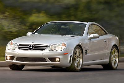 Used 2005 Mercedes-Benz SLK350