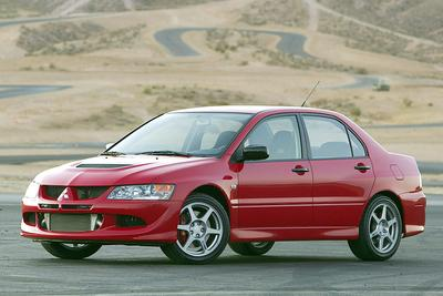 Used 2005 Mitsubishi Lancer Evolution VIII
