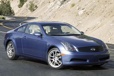 Used 2005 INFINITI G35 2DR CPE MT