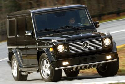 2005 Mercedes-Benz G500 4MATIC