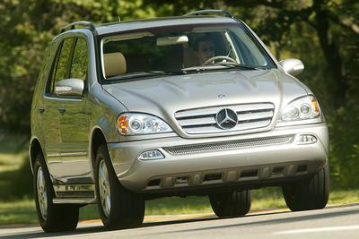 Used 2005 Mercedes-Benz ML350 4MATIC