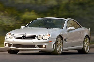 Used 2006 Mercedes-Benz SL55 AMG