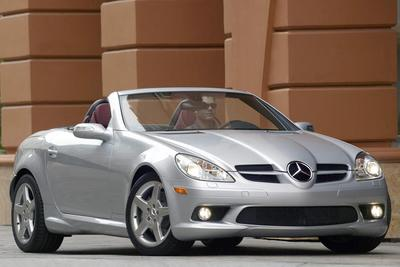 Used 2006 Mercedes-Benz SLK55 AMG Roadster