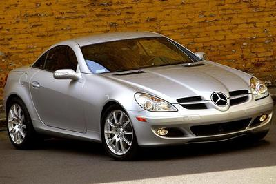 Used 2007 Mercedes-Benz SLK350 Roadster