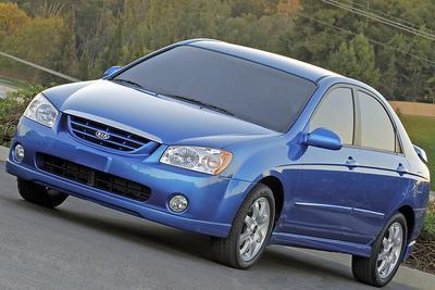 Used 2007 Kia Spectra EX