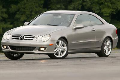 Used 2007 Mercedes-Benz CLK550