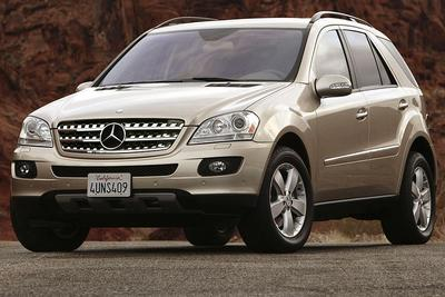 Used 2007 Mercedes-Benz ML350 4MATIC
