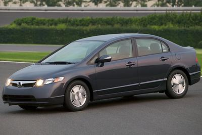 2007 Honda Civic Hybrid AT-PZEV