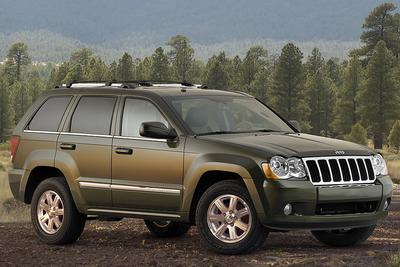 Used 2008 Jeep Grand Cherokee Overland