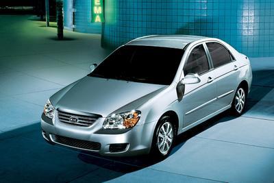 Used 2008 Kia Spectra EX