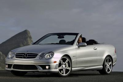 2008 Mercedes-Benz CLK550