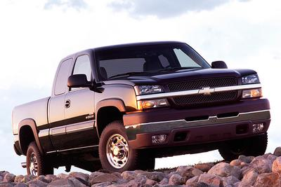 Used 2005 Chevrolet Silverado 2500 H/D Extended Cab