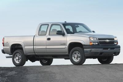 Used 2007 Chevrolet Silverado 2500 H/D Extended Cab