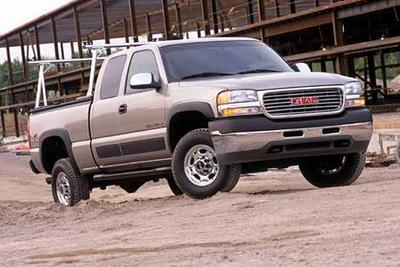 Used 2002 GMC Sierra 2500 SLE