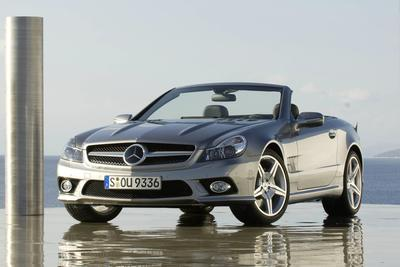 Used 2009 Mercedes-Benz SL550 Roadster