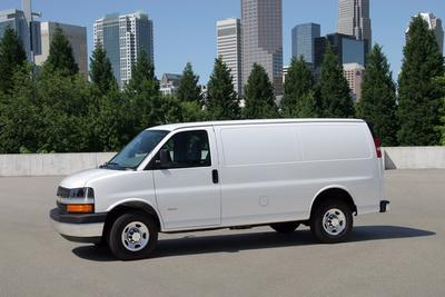 Used 2010 Chevrolet Express 3500 Cargo