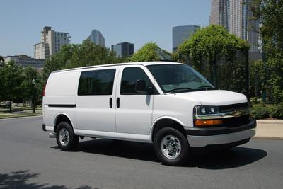 2011 Chevrolet Express 3500 Work Van