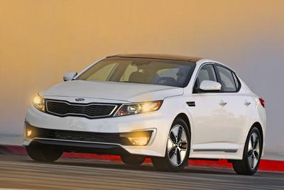 Used 2011 Kia Optima Hybrid EX
