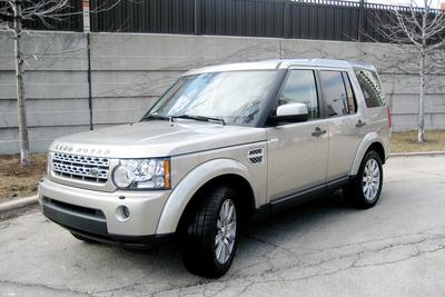 Certified 2012 Land Rover LR4 Base