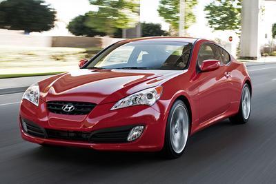 Used 2012 Hyundai Genesis Coupe 3.8 Track