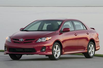 Certified 2012 Toyota Corolla 4-DOOR S SEDAN