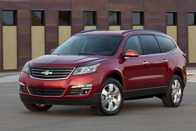Certified 2013 Chevrolet Traverse