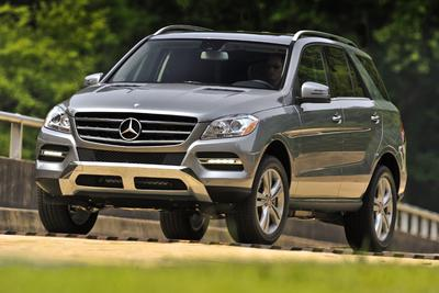 Certified 2013 Mercedes-Benz ML350W4