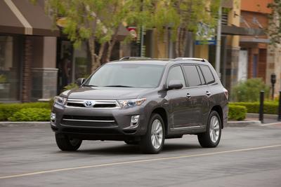 Certified 2013 Toyota Highlander Hybrid Limited