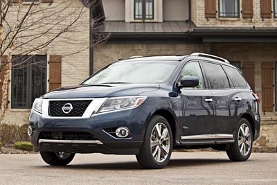 Certified 2014 Nissan Pathfinder Hybrid SV