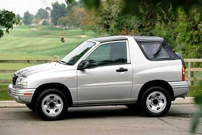 2003 Chevrolet Tracker Vs 2003 Suzuki Vitara Cars Com
