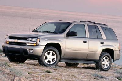 2003 chevrolet trailblazer recalls