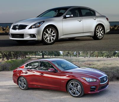 Infiniti Q50 and G37 to Share Spot in Lineup