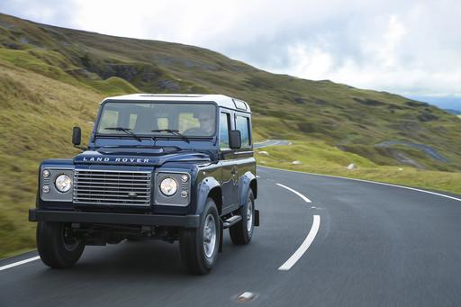 Land Rover, Land Rover, Send Defender Back Over