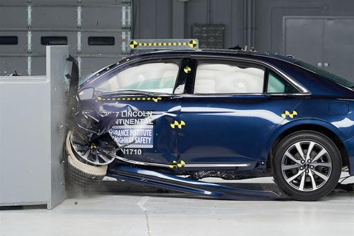 Crash-Test Ratings: 2019 Lincoln Continental Is Top Safety Pick Plus