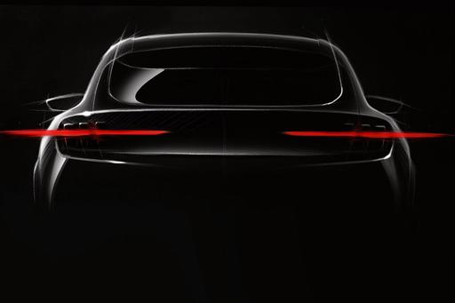 Here's the First Public Sketch of New Mustang-Based Electric Crossover