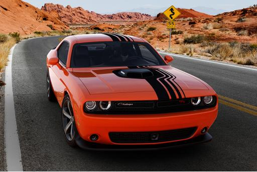 Dodge Muscle Cars All Shook Up With Retro Package Paints
