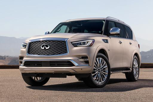 2018 Infiniti QX80 Freshened Up, Marked Up