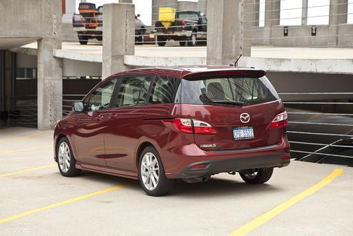 Farewell Tiny Van: Mazda Cancels the Mazda5 for 2016