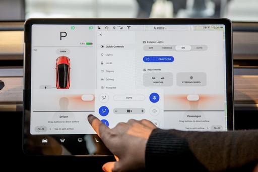 5 Ways the Tesla Model 3's Big Screen Makes a Big Impression